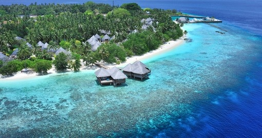 Walk along the coastline of the resort island of Bandos and experience the laid back lifestyle of your Maldives Vacation