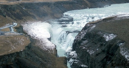 Visit Gullfoss Falls and learn about it magical story on your next Iceland tours.
