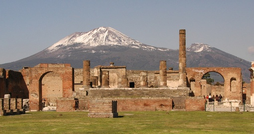 Visit ancient Pompeii on your trip to Italy