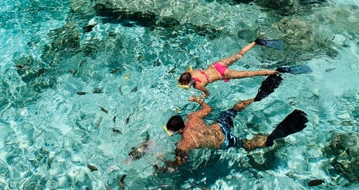 Try snorkling in pristine water