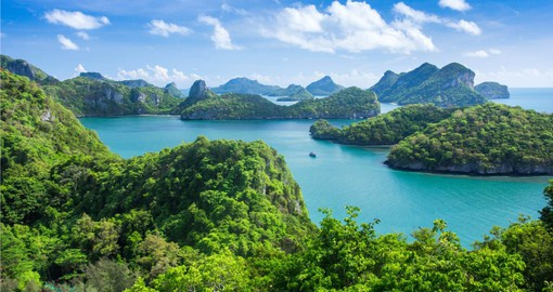 "The 43 jungle islands of Ang Thong Marine National Park inspired Alex Garland's cult novel ""The Beach"""