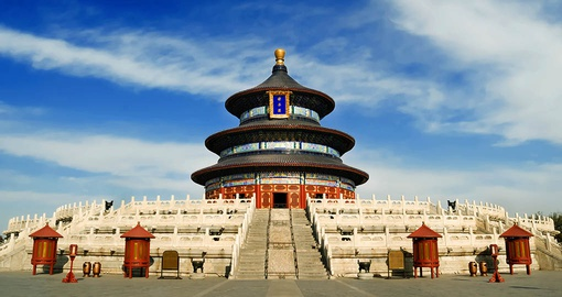 Visit the ancient Temple of Heaven on your China Tour