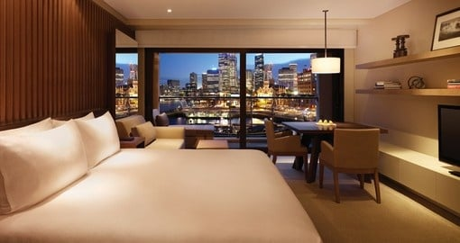Experience all the amenities of the Park Hyatt Sydney during your next Australia tours.
