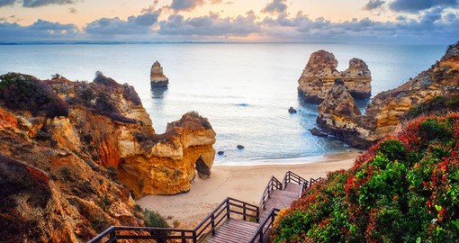 Stunning coastlines and beaches of the Algarve