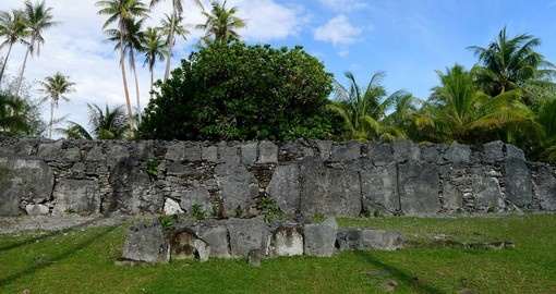 Take in some of the ancient archaeological stone structures on your Tahiti Tour