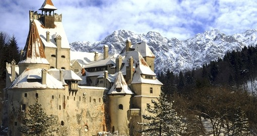 Dracula's Bran Castle in Transylvania is a must inclusion on your Romania vacation.