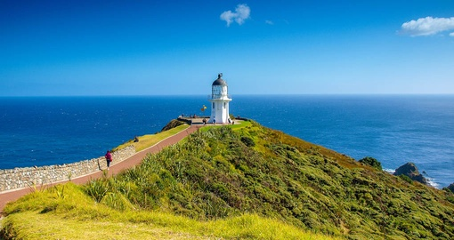 Experience the Cape Reigna Lighthouse on your New Zealand Vacation