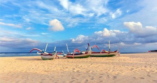 Enjoy the beach at Nusa Dua on your Bali Vacation