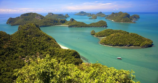 Experience Angthong National Marine Park during your Thai Vacation