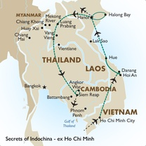 Secrets of Indochina - ex Ho Chi Minh