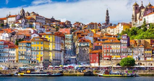 Portugal's second-largest city, Porto lies on the banks of the River Douro