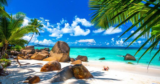 An archipelago of 115 islands in the Indian Ocean, the Seychelles are renown for exquisite beaches