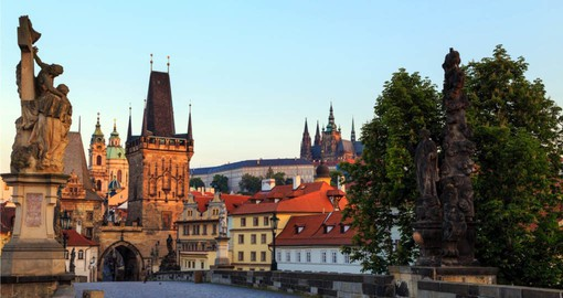 Enjoy the architecture of Lesser Town Bridge Tower on your trip to Prague