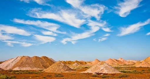 Experience the Painted Desert on a Tour from Coober Pedy as part of your Australia Vacation