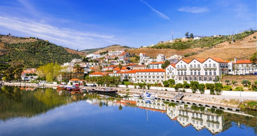 Sip delicious wine in the Pinhao region on your Portugal vacation