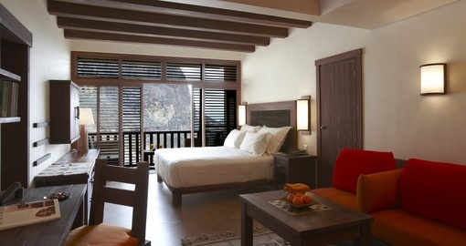 Double room - Photo Credit Six Senses Resorts and Spas
