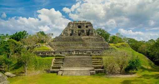 See historic Xunantunich on your Belize Vacation