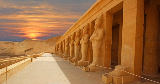 Valley of the Kings in Luxor