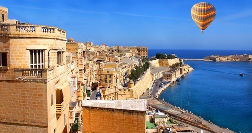 Valetta on the ocean