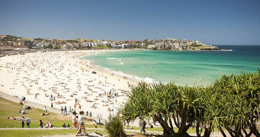 Soak up some sun on famous Bondi Beach on your Australia Vacation