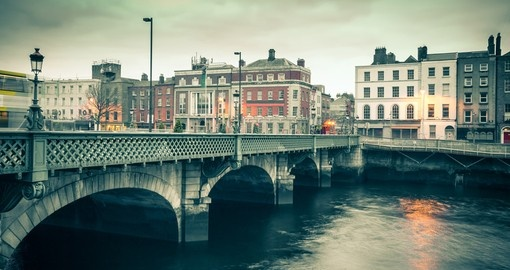 Begin your Ireland Vacation in Dublin, the countries largest city