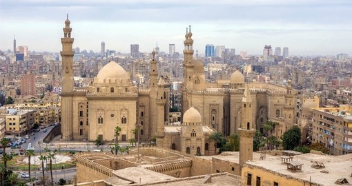 A visit to The Citadel in Cairo is included on your vacation to Egypt