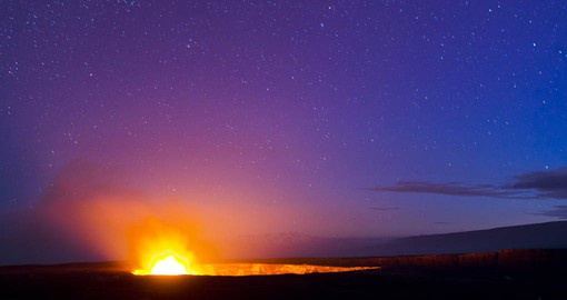 Kilauea is the youngest and most active of the Hawaiian volcanoes