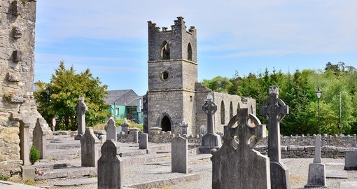 Visit Cong Abbey the historic site located at Cong during your next Ireland tours.