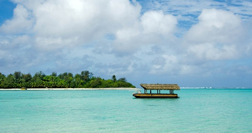 Snorkel and swim amongst tropical fish before taking in a Coconut show and lunch on your Cook Islands vacation
