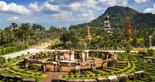 The Nong Nooch Garden in Pattaya is a great way to spend a few hours of your Thailand vacation