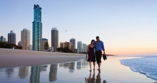 Surfers Paradise beach, Gold Coast, Queensland