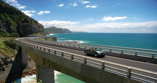 Awe Inspiring Grand Pacific Drive between Sydney and Woollongong