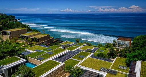 Magnificent Ocean Views from the Anantara Uluwatu