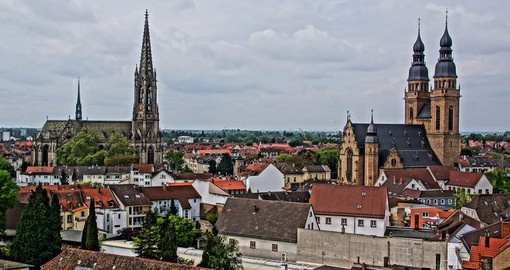Explore beautiful small town Speyer right beside the river Rhine during your next Europe vacations.