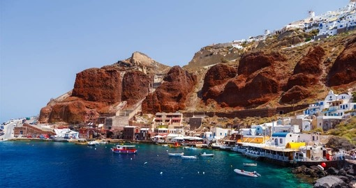 Visit Ammoudi Village on Santorini during your Greece Vacation