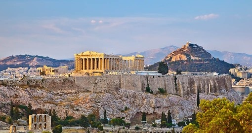 The Acropolis is a part of every vacation in Greece