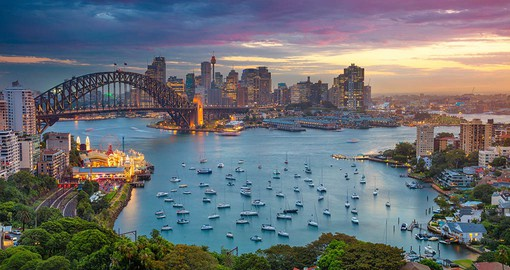 Sydney and its magnificent harbour