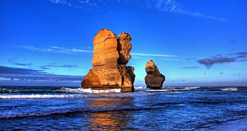 A highlight of your trip to Australia is the drive along The Great Ocean Road