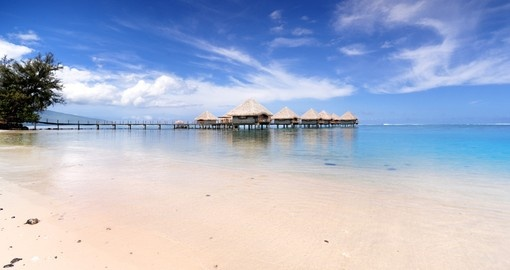 Relax while staying at the Overwater Bungalow during your next Bora Bora vacations.
