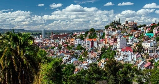 Antananarivo, Madagascar's largest city is the starting place for your Madagascar Tours