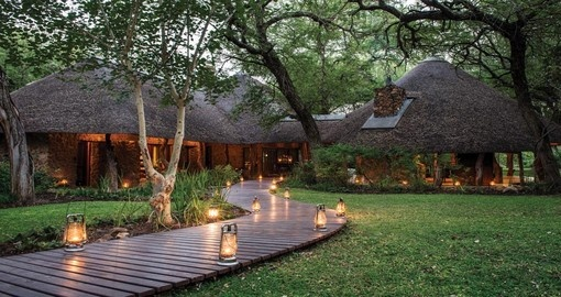 Your South Africa vacation includes a stay at the Dulini Private Game Reserve.