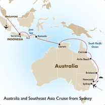 Australia and Southeast Asia Cruise from Sydney