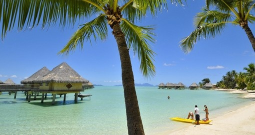 Experience kayaking on world famous Bora Bora Lagoon during your next trip to Bora Bora.