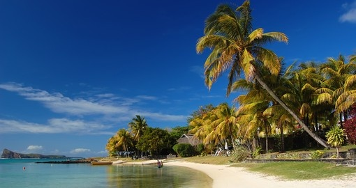 The beaches in Mauritius are stunning