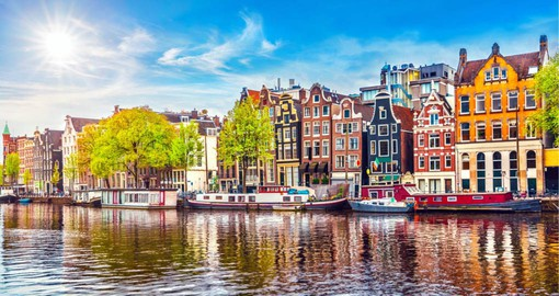 Treasure-packed Amsterdam boasts world class museums, vintage shops and a creative design and dining scene