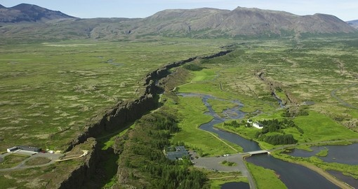 Iceland trips arent complete without a trip to Thingvellir National Park