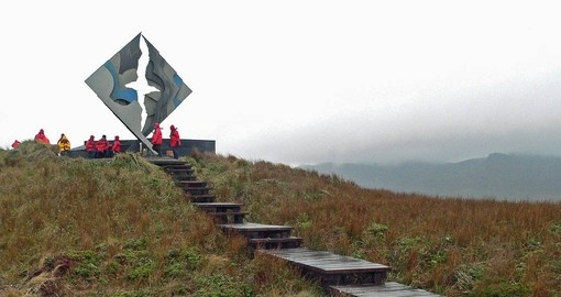 Your Chile Vacation stops at Cape Horn, the southern most point on Tierra del Fuego
