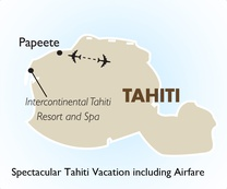 Spectacular Tahiti Vacation including Airfare
