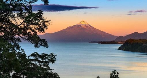 Nicknamed the King of the South, snow-capped Osorno Volcano is one of Chile's most visible landmarks