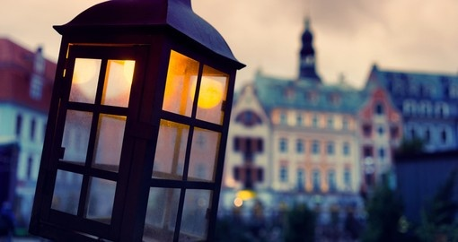 An evening in Riga